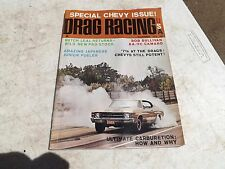 November 1970 DRAG RACING USA MAGAZINE Funny Cars Dragsters Chevy's Pro Stock