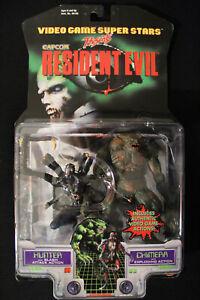 Resident Evil Hunter & Chimera Toy Biz Capcom Action Figures 1998 New