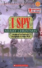 Scholastic Reader Level 1: I Spy Merry Christmas by Jean Marzollo
