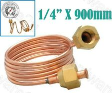"""Capillary Tube With 1/4"""" Flare Nut For Connect Gauge Switch Control 90cm (CTN900"""