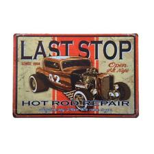 20x30cm Retro Metal Tin Sign Plaque Wall Poster Cafe Pub Home Motorcycle 35
