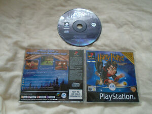 Harry Potter and the Philosophers Stone PS1 (CD JEWEL CASE) Sony PlayStation