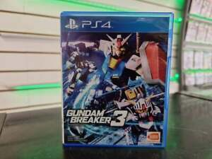 Gundam Breaker 3 - PS4 - FAST & FREE DELIVERY