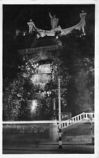 B36101 Budapest St Gerard`s Monument and Watter Fall illuminated     hungary