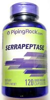 120 Capsules Serrapeptase 120,000 SPU Anti Inflammatory Joint Pain Gluten Free