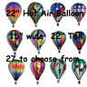 "22"" Hot Air Balloon Wind Spinner by Premier Design"