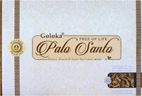 3 boîtes d'encens Goloka Palo Santo 15g