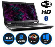 """HP 6555B AMD Athlon P340 DVD-RW KAM 15,6"""" HD FireWire"""