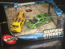 Super Street Magazine Hot Wheels Collectibles 2-car Limited Edition 1/64 Set
