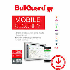 BullGuard Mobile Security antivirus 2017 più recente smartphone tablet Android 1 ANNO