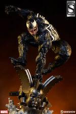SIDESHOW Exclusive VENOM PREMIUM FORMAT Statue Spider-man Figure Bust Comiquette