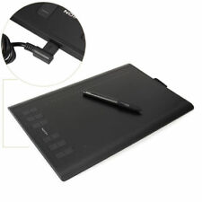 """Huion NEW 1060 Plus Larger Art Graphic Drawing Tablet Board 10X6.25"""" 12 HotKeys"""