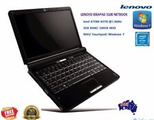 Lenovo IdeaPad S10E Netbook BLACK WiFi (2GB 160GB HDD Intel Atom 1.6 GHz) Win7