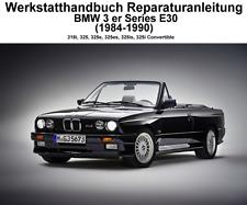 Werkstatthandbuch Reparaturanleitung BMW 3 er Series E30