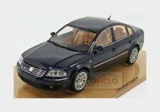 Volkswagen Passat W8 Limousine 2001 Indingo Blue DNA COLLECTIBLES 1:18 DNA000029