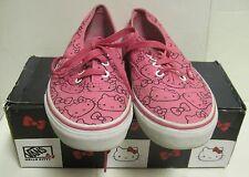 Vans Hello Kitty Sneakers Size 5.5 W/Box