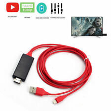 2M 1080P 8 Pin to HDMI TV AV Converter Adapter Cable for iPad iPhone 6 6S 7 Plus
