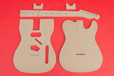 """Telecaster Router Template Set with Neck Humbucker PAF 1/2"""" Thick MDF """"Keef"""""""