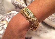 18k (.750) Gold Ladies Bracelet 44 grams - 8 inches - 18.5mm