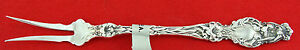 """Whiting LILY Sterling Silver  2-TINE BUTTER-PICK FORK, 6"""", No Mono"""