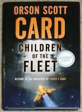 CHILDREN OF THE FLEET ~ ORSON SCOTT CARD ~ ENDER'S GAME NOVEL ~ SIGNED 1st PRINT