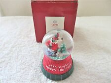 Gund Holiday Goober Musical Waterglobe, # 88953 - 'ahhh Shucks Happy Holidays'