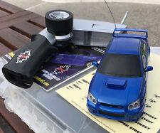 XMODS RC CAR GEN 1 BLUE SUBARU IMPREZA WRX 1:28 RACE CAR KIT REMOTE CAR