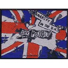 OFFICIAL LICENSED - SEX PISTOLS - ANARCHY IN THE UK SEW ON PATCH PUNK