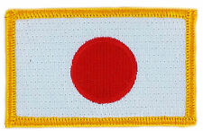 FLAG PATCH PATCHES JAPAN JAPANESE   IRON ON COUNTRY EMBROIDERED WORLD SMALL