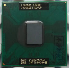 Intel Core DUO Yonah T2700 2.33G 2MB SL9JP CPU LF80539GF0532MX BX80539T2700