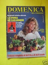 DOMENICA DEL CORRIERE ANNO 88 N. 18/19 10 MAGGIO 1986
