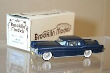 Brooklin Modèles 11 1956 Lincoln Continental Coupe Bleu Foncé
