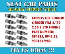 Tappets x 12 pour Peugeot 406 605 806 BOXER 2.1 TD 2.5 D 2.5 TD 89-04 094225