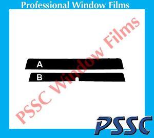 PSSC Sun Strip Car Window 05-11 Tint TOYOTA HILUX Dual Cab