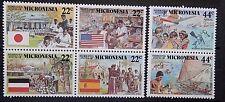 Micronesia 1988 Micronesian History Set. MNH.
