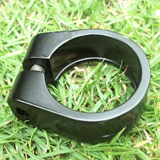 31.8mm Bicycle Cycling Seatpost Clamps Seat Clamp Collar Road Bike Black