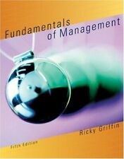 Fundamentals of Management by Griffin, Ricky W