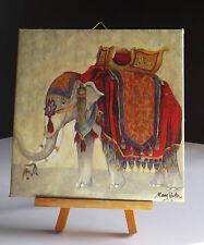 Bild Dekofliese Geburtstag Danke Mitbringsel Geschenkidee Elefant (059)