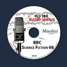 BBC Science Fiction 68 Old Time Radio Shows SCI-FI 9 OTR MP3 Files on 1 Data DVD