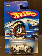 2006 Hot Wheels #063 Mopar Madness 3/5 Dodge Tomahawk White - J3389