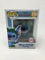 Funko Pop! Disney Lilo And Stitch - Hula Stitch #718 + Pop Protector