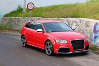 SIDE SKIRTS ADD-ON DIFFUSERS AUDI RS3 8P (2011-2012)