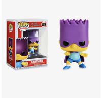 Funko Pop! Bart Simpson Bartman The Simpsons Vaulted Mint Condition #503