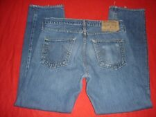 Mens True Religion XXX Cisco Kid Straight Blue Jeans 30 X 32 Made USA