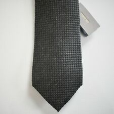 NWT Authentic TOM FORD Gray SILK CASHMERE COTTON Classic Neck Tie