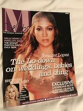 ** JENNIFER LOPEZ JLO RARE UK SUNDAY MIRROR CELEBS MAGAZINE 2003**
