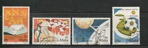 Malta Stamps, 1990, SG 866-869, Fine Used
