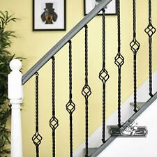 Single Basket Rope Twist Stair Spindle With Adjustable Fixing Brackets