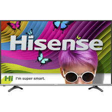 "Hisense 55"" Smart LED Ultra HDTV w/ 4K Resolution, 4HDMI/3USB/WiFi Connectivity"