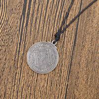 Antique Love Necklace Solomon Vintage Magic Figure Talisman Pendant Jewelry Gift